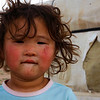 People of the Gobi Desert : Rugged,  hearty, rosey, wrinkled, innocent, and soft - these are the people of the Gobi Desert.  A tough environment produces tough people.