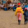 Naadam Festival : The famous festival of 3 manly sports.  They have their 'game face' on; as some of the strongest competitors I've ever seen.