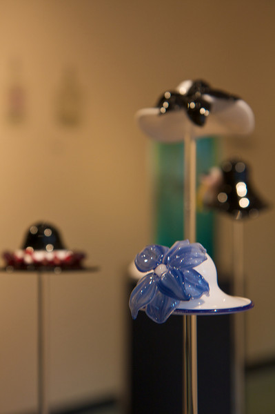 Glass Derby Hats